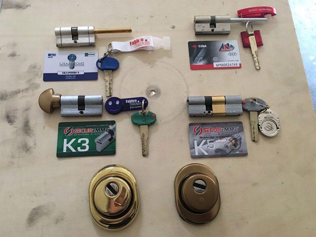 Serratura cilindro europeo milano di caso giuseppe - Cambio serratura porta ...